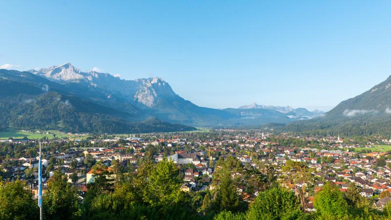 Panorama Garmisch-Partenkirchen