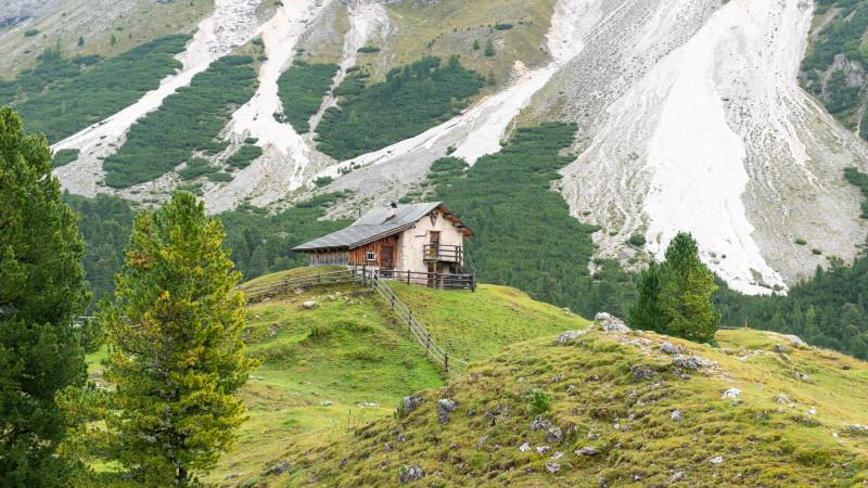 Berghütte in Südtirol