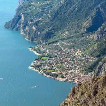 Ausblick auf Limone Sul Garda