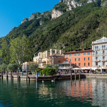 Kleiner Hafen in Riva del Garda