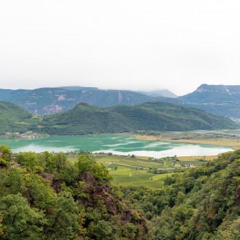 Ausblick auf den Kalterer See
