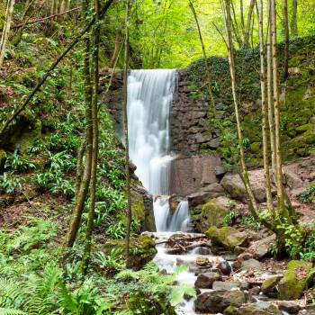 Wasserfall in der Rastenbachklamm