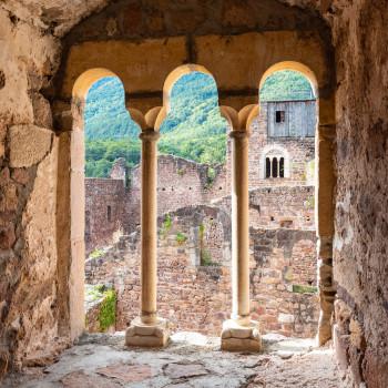 Turmfenster auf Schloss Boymont