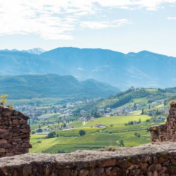 Ausblick von Schloss Boymont