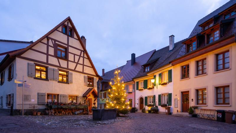 Weihnachten in der Altstadt von Engen
