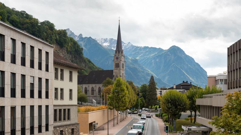Kathedrale St. Florin in Vaduz