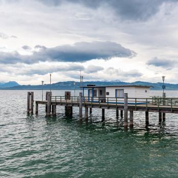 Landungssteg Bad Schachen am Bodensee