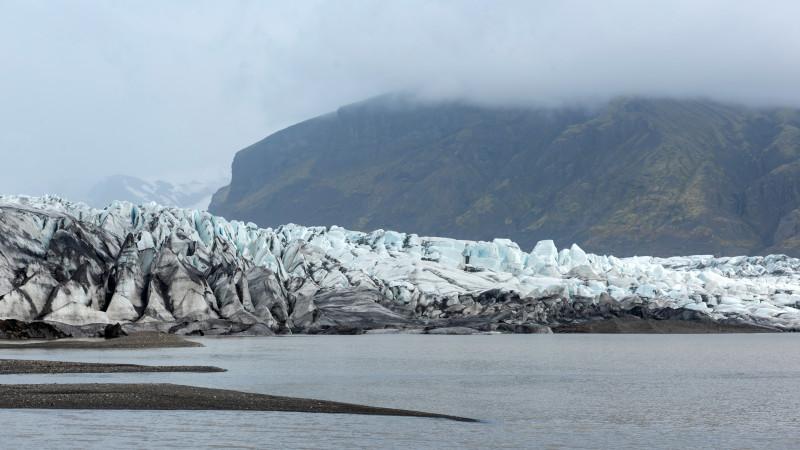 Skaftafell Gletschereis