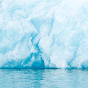 Eiswand im Jökulsarlon Gletschersee