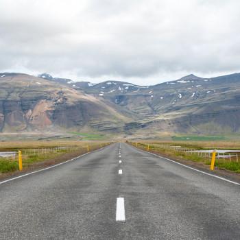 Landschaft im südosten von Island