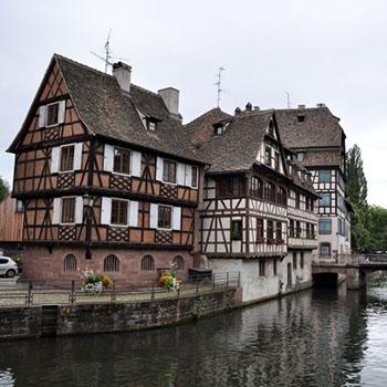 Trip nach Strasbourg in Frankreich