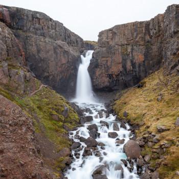 Fardagafoss Wasserfall