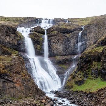 Rjukandi Wasserfall