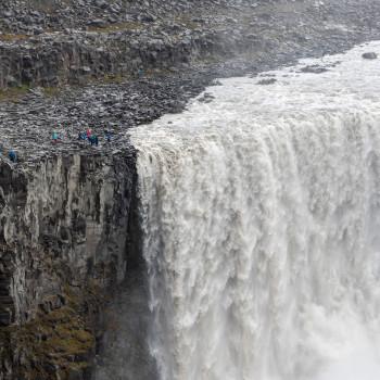 Dettifoss Wasserfall Ostseite