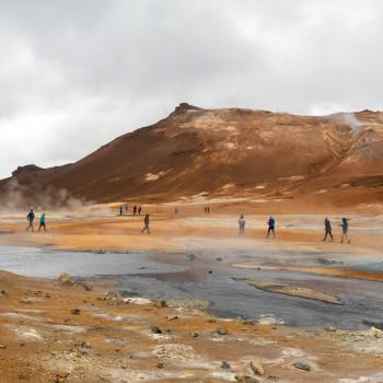 Vulkanisches Gebiet Hverir