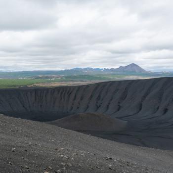 Hverfjall Vulkankrater
