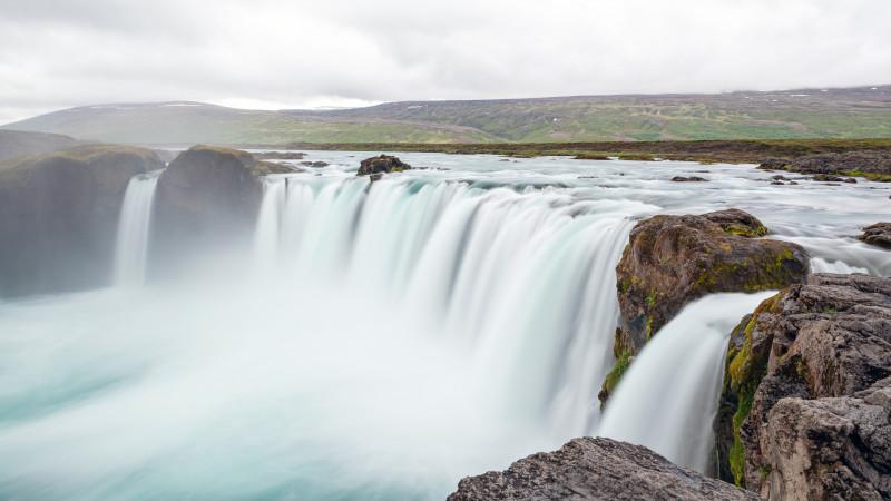 Godafoss Wasserfall Island