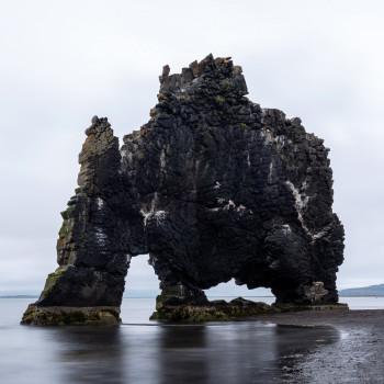 Nordküste Island mit Hvitserkur