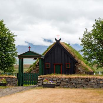 Vidimyri Kirche in Island