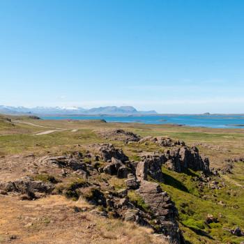 Berge, Meer und Stykkisholmur
