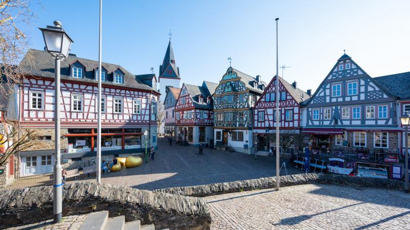 Fachwerkhäuser in Idstein