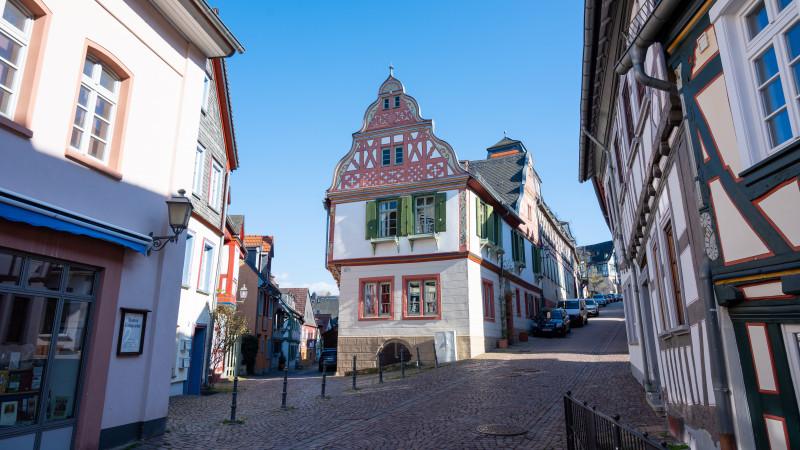 Altes Fachwerkhaus in Idstein