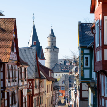 Skyline Altstadt von Idstein mit Hexenturm