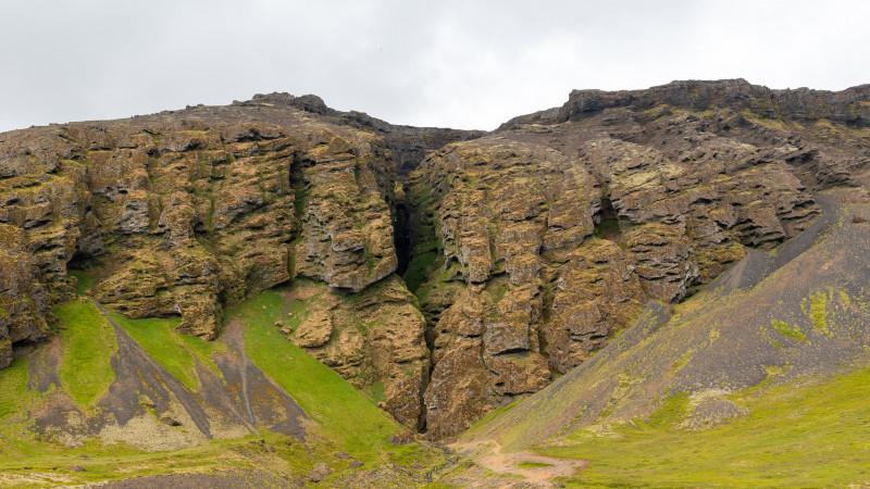 Raudfeldsgja Schlucht in Island