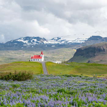 Ingjaldsholskirkja in Island