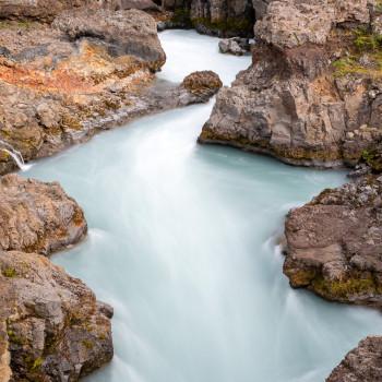 Barnafoss Wasserfall