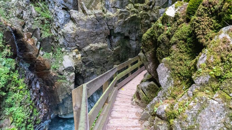 Hike in the Gilfenklamm Gorge