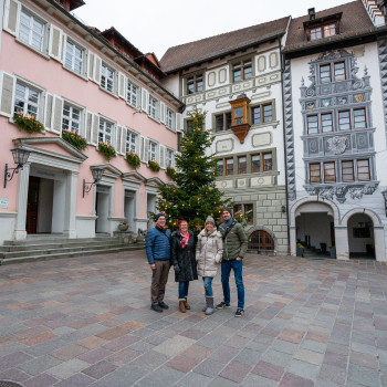 Malerische Altstadt von Engen