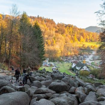 Klettern und Wandern am Felsenmeer im Odenwald