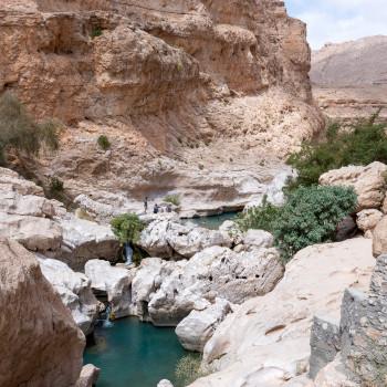Wadi Bin Khalid im Oman