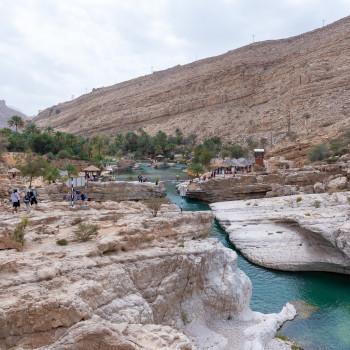 Pools im Wadi Bani Khalid Oman