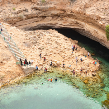 Sur and Bimmah Sinkhole in Oman