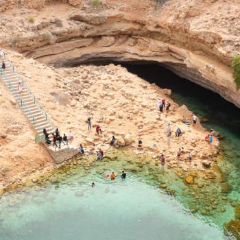 Sur und Bimmah Sinkhole im Oman