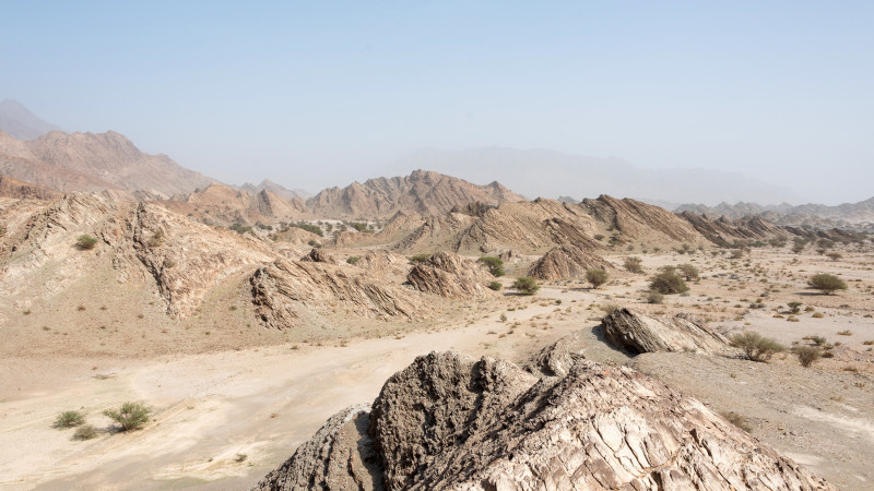 Berge im Oman