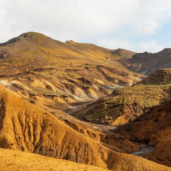 Trölladyngja Canyon Iceland Reykjanes Peninsula