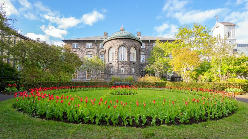 Garten am alten Parlament