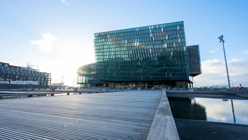 Harpa Konzerthalle in Reykjavik