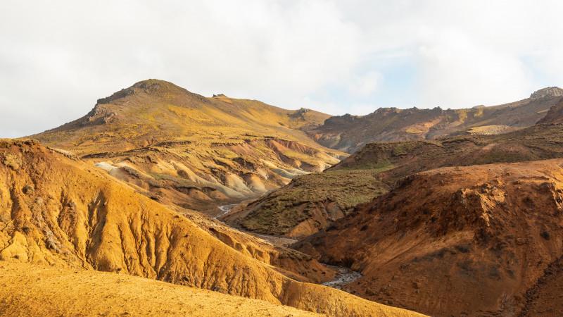 Trölladyngja Berge in Island