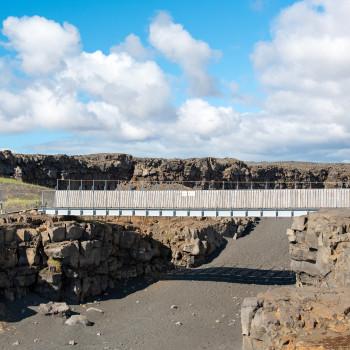 Brücke zwischen Kontinenten