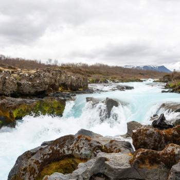 Midfoss Wasserfall