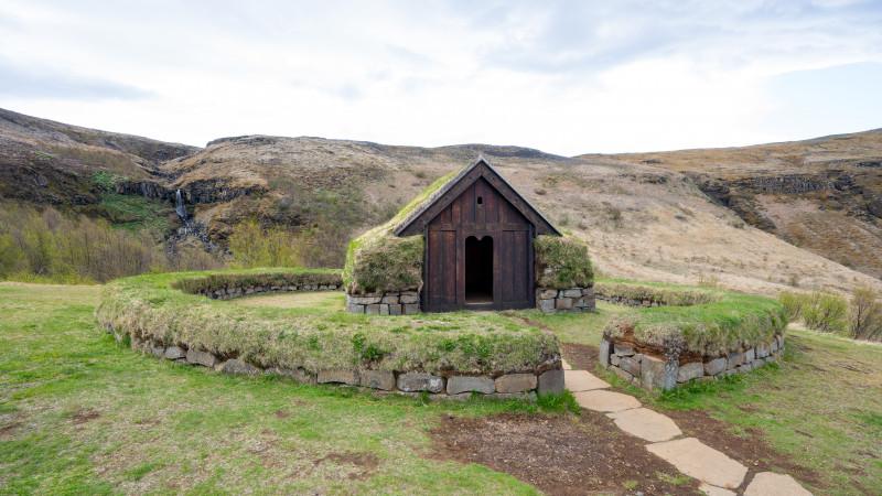 Torfhaus aus der Wikingerzeit