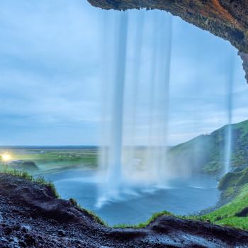 Schönster Wasserfall in Island