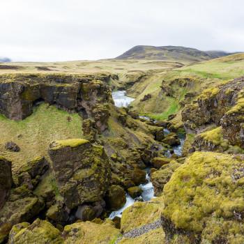Steinbogafoss Wasserfall