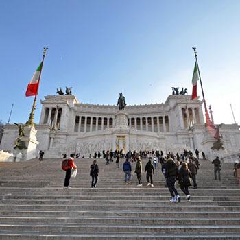 Rom Silvester Teil 4 - Forum und Monumento Vittorio Emanuele