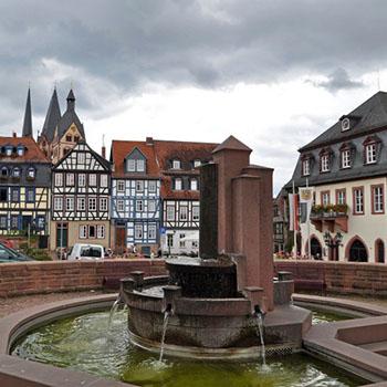 Besuch in der Altstadt Gelnhausen