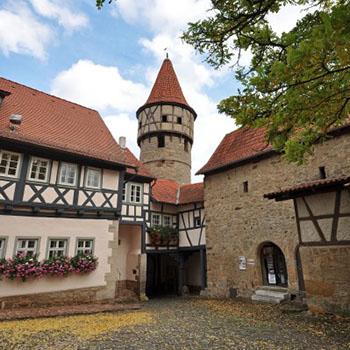 Kirchburg in Ostheim in der Rhoen